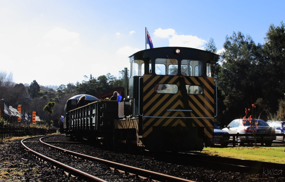 Waikino Goldfields train