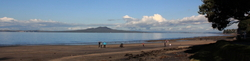 Rangitoto from Murrays Bay Beach