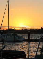 Sunset from Bayswater marina