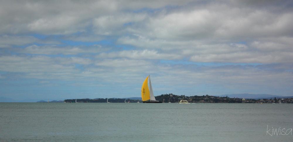Yellow sail