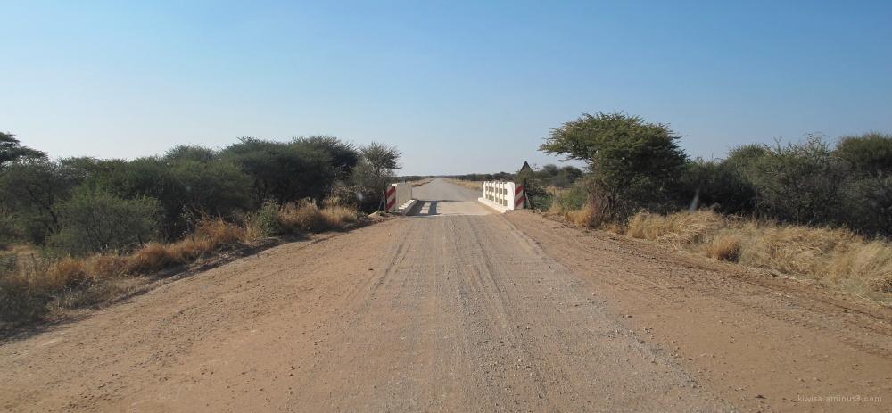# 6 On route to Etosha Pan