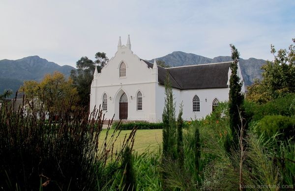 #1 Dutch Reformed Church Franschhoek
