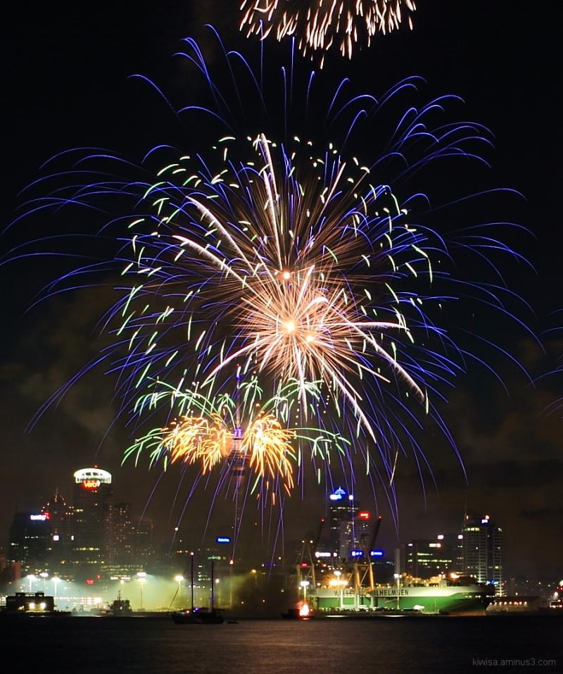 #4 Auckland Anniversary fireworks