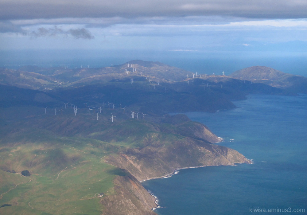 Windfarm on the hills