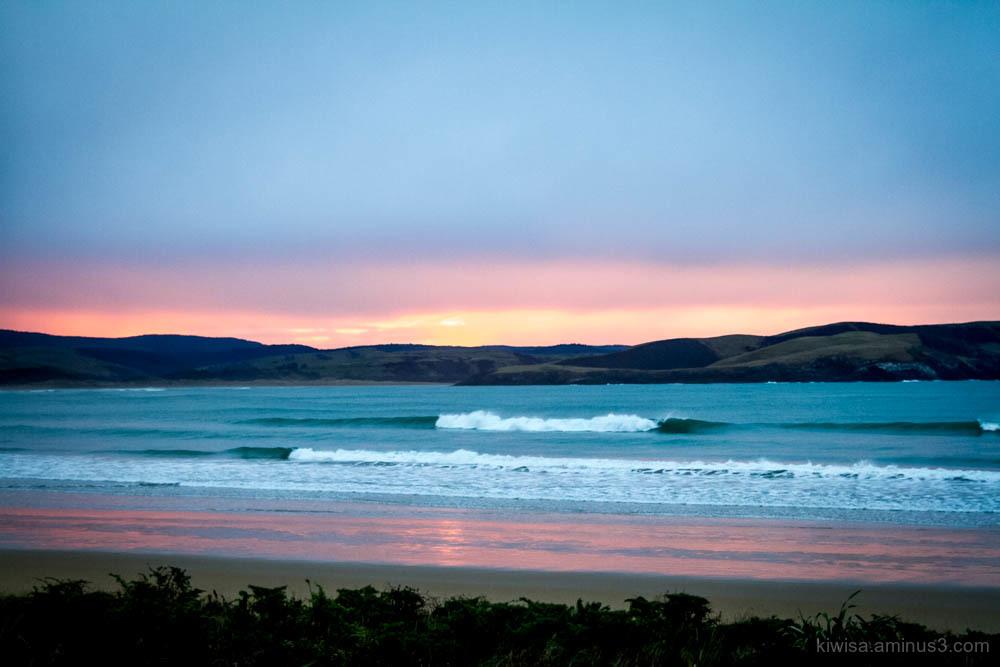 Colours at dawn