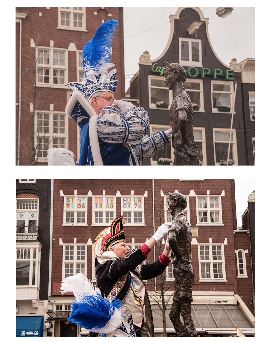 Het Lieverdje op het  Spui,  Amsterdam