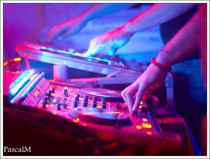 music and light
