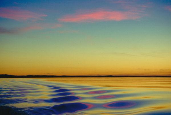 Sunrise in Morbihan Bay (Kerguelen archipelago)