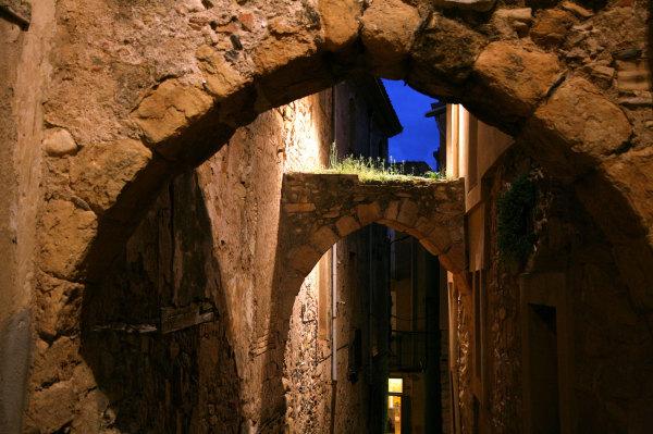 Les vieilles rues de Montblanc