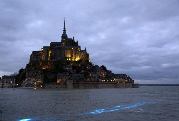 La marée haute du siècle au Mont Saint Michel