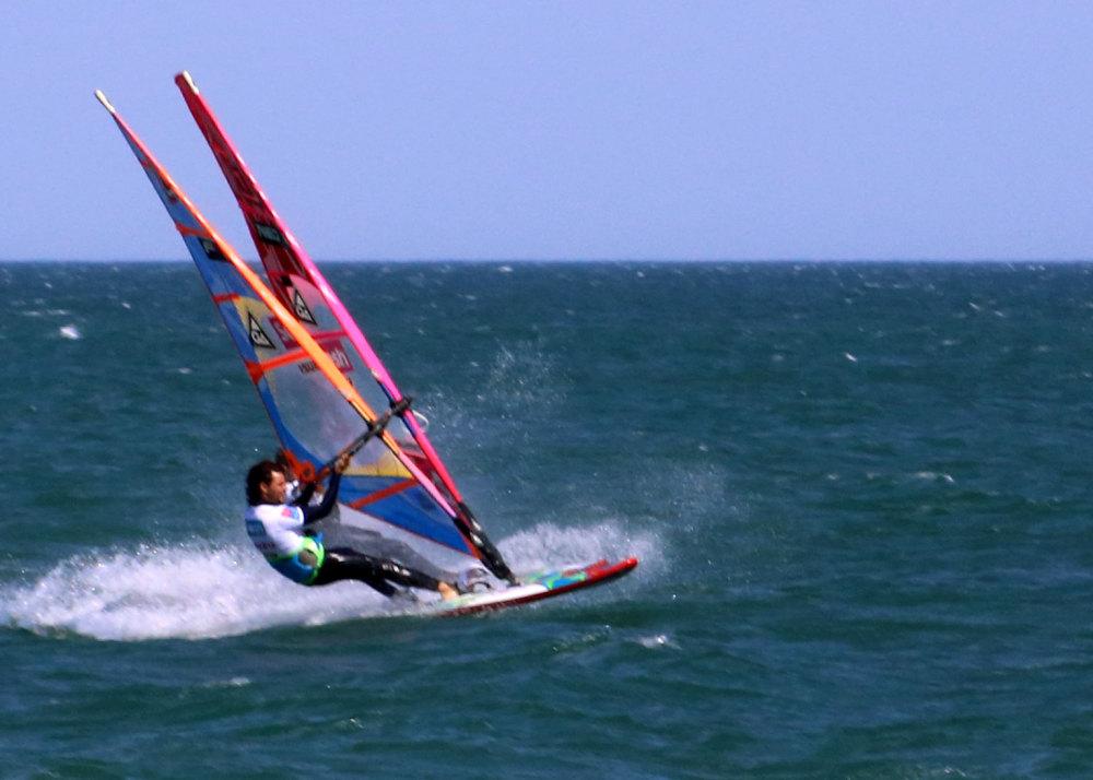 Planches à voiles au Mondial du vent