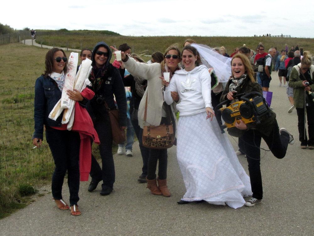 Un mariage au Cap Gris-nez