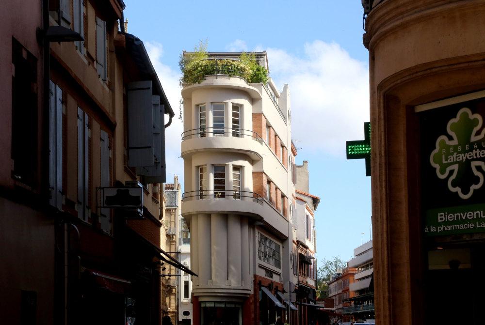 Dans le centre ville de Toulouse