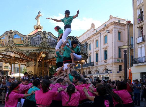 La tradition des Castellers