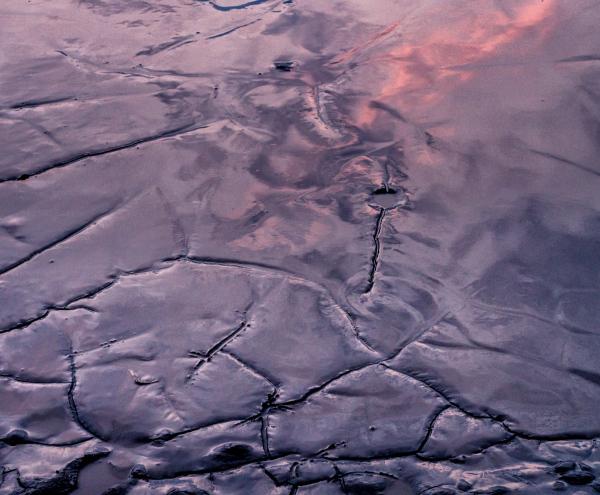 Mud at Sunset