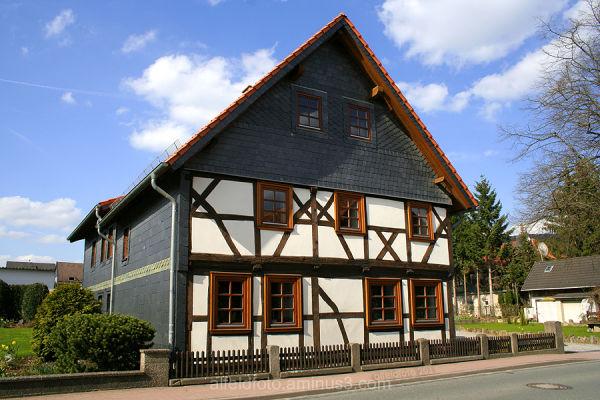 Fachwerkhaus in Delligsen im Leinebergland