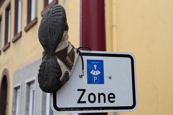 Schuh in Elze im Leinebergland