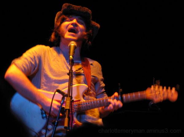 Mat Davidson performing w/ the Low Anthem