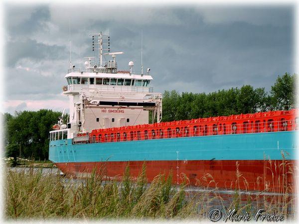 bateau à Ouistreham
