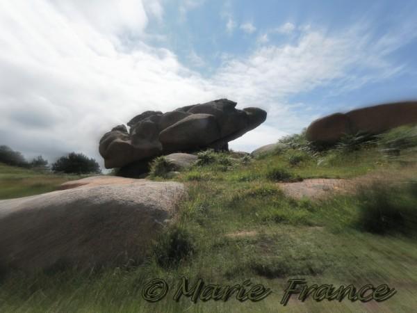 rocher à Ploumanach