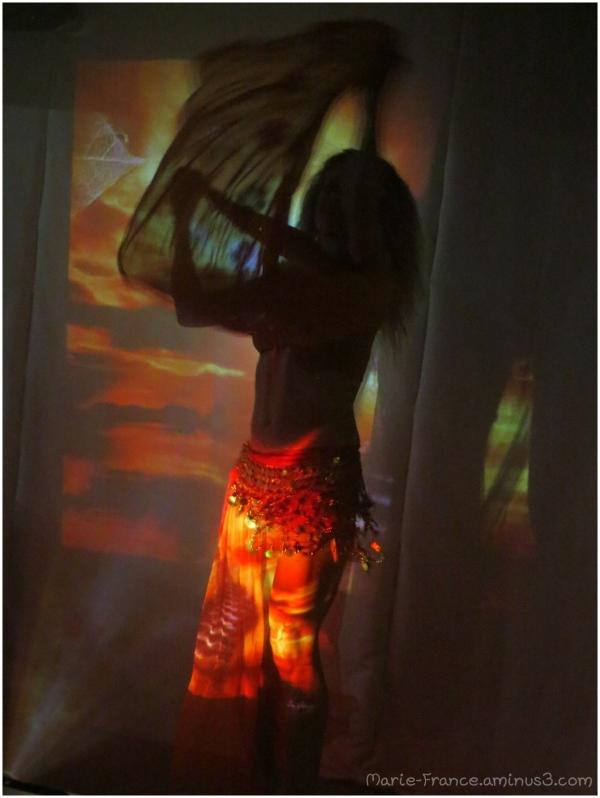 Danseuse dans l'ombre