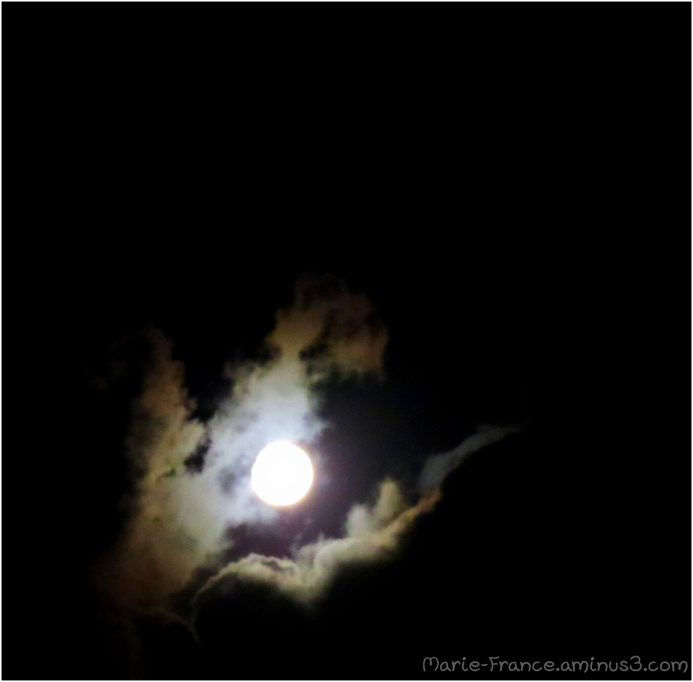 Ciel nocturne en Bretagne