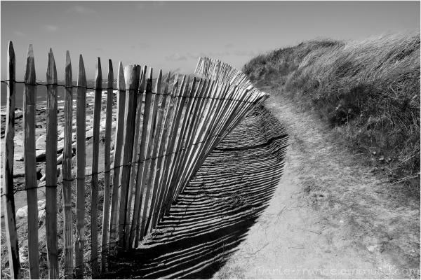 Sentier de rendonnée en Bretagne