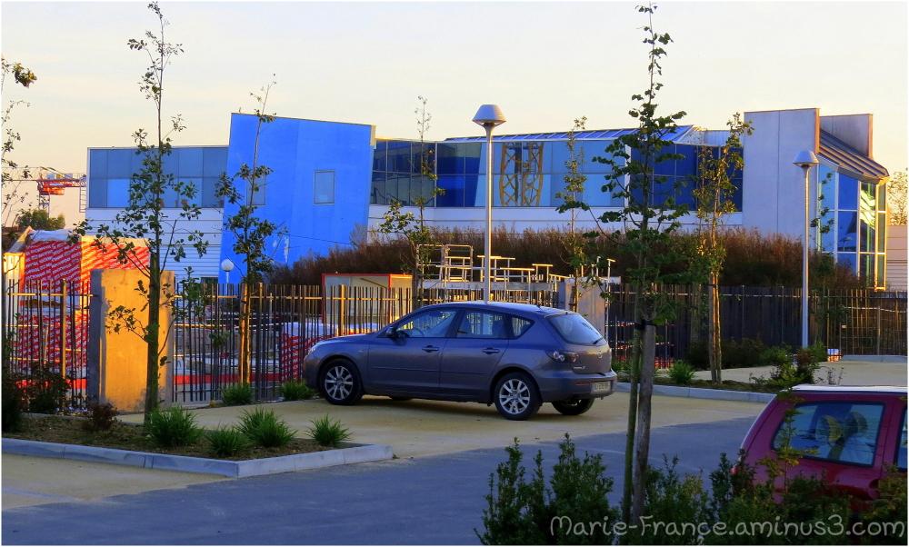 bâtiment en zone industrielle à Angers