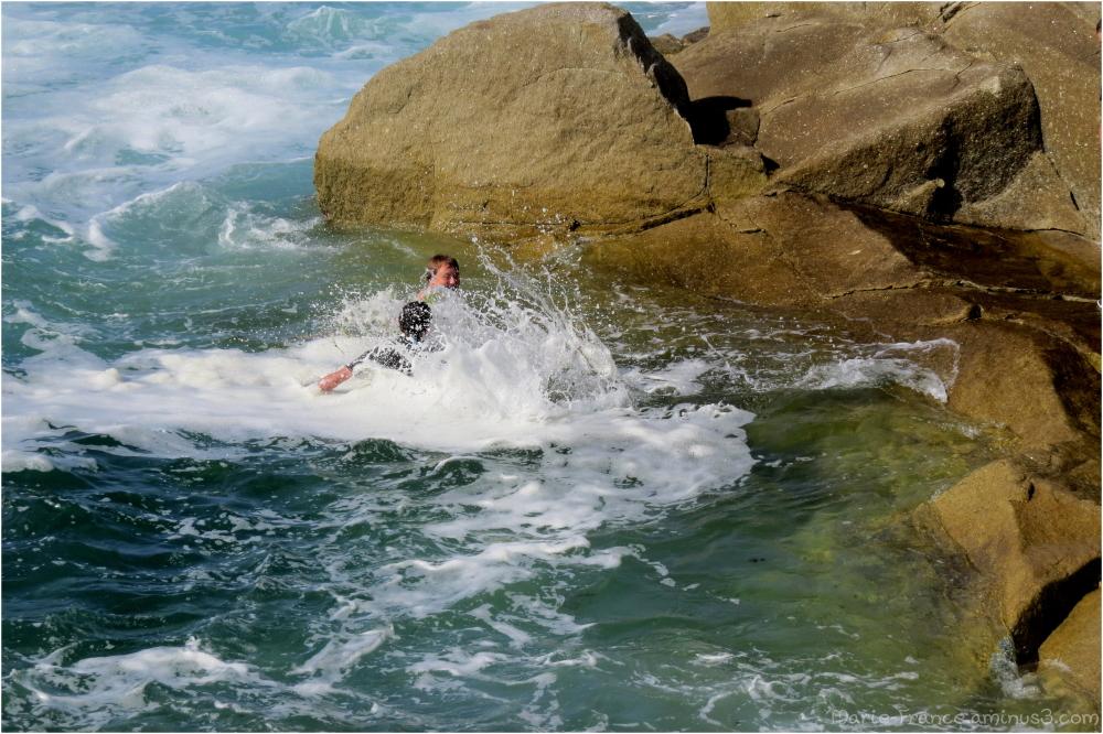des nageurs en Bretagne