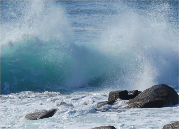 Une vague en Bretagne