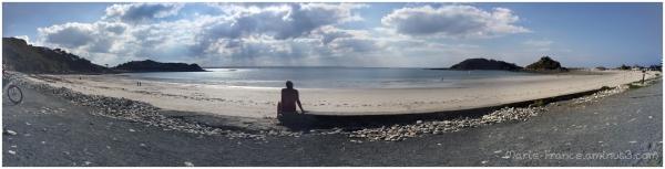A Trébeurden, une des sept plages