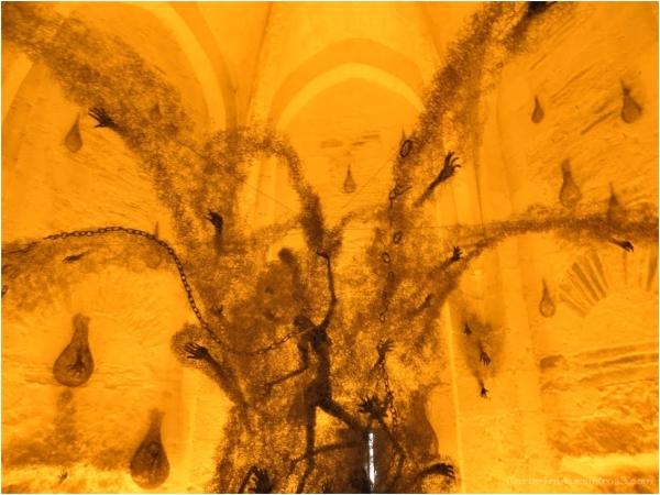 oeuvre d'art au chateau d'Angers