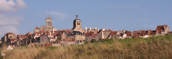 Vézelay's skyline