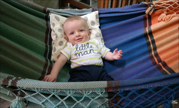 Loving the hammock