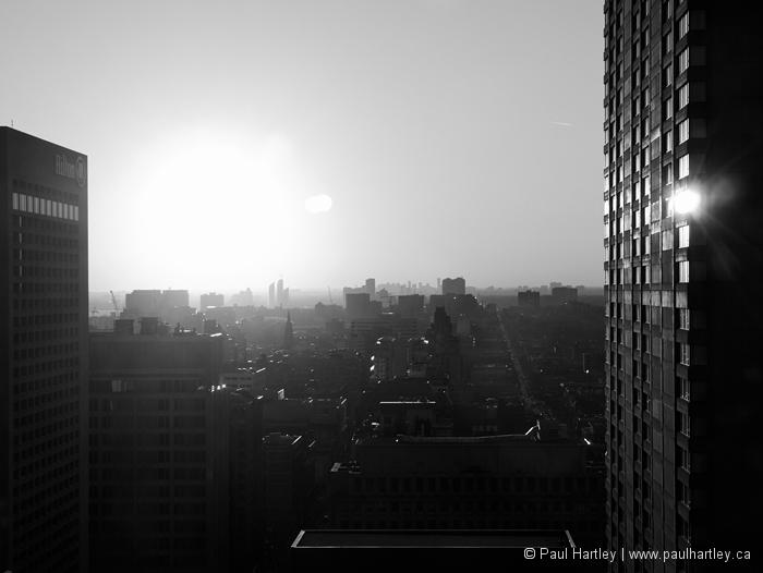 black & white sunburst toronto ontario