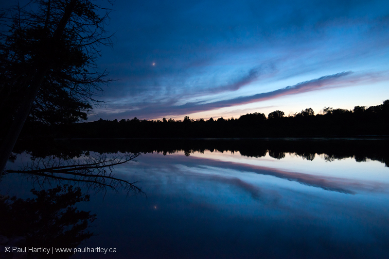 Sunset on Otonabee River