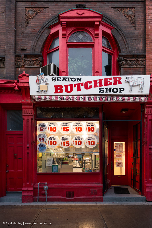 Butcher Shop in Toronto Ontario