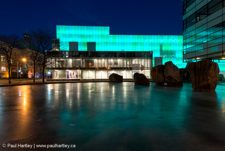 Ryerson University Image Centre Lights & Ice