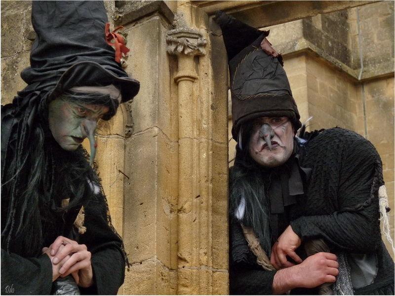 Les soeurs Tétapou, sorcières échassières à Avioth