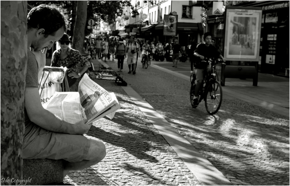 L'homme au journal
