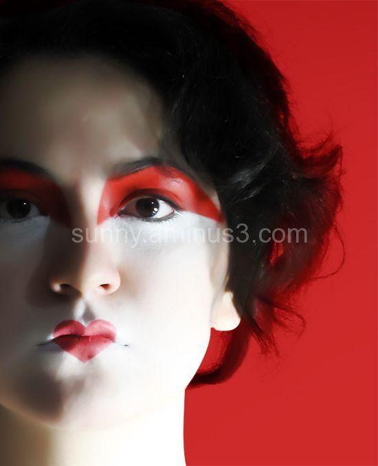 Self Portrait - Geisha meets Jester