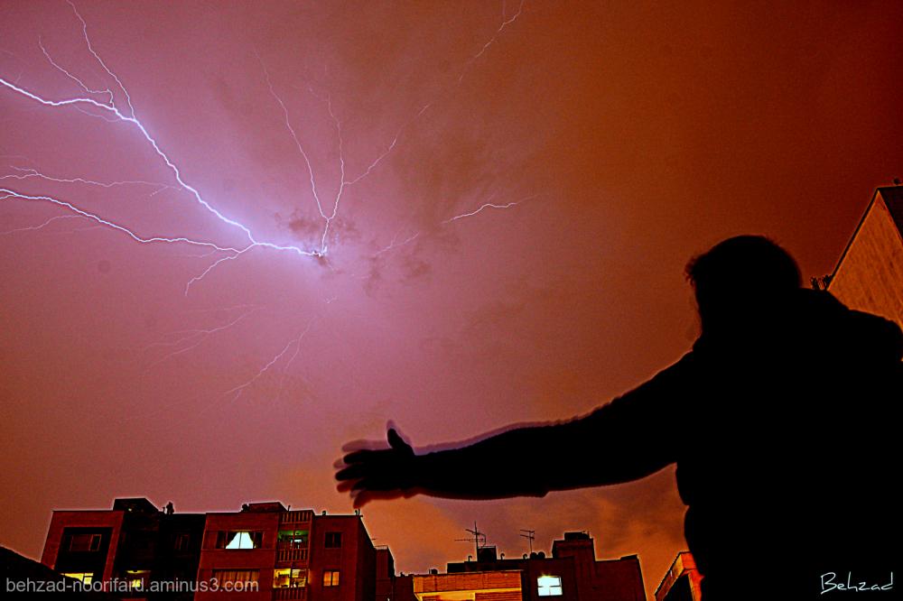 رعدوبرق Thunder and lightning