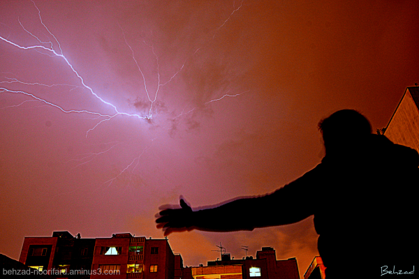 رعدوبرق Thunder and lightning