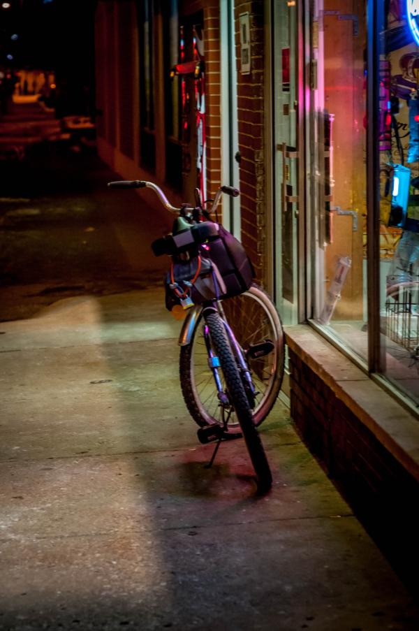 Getaway bike.