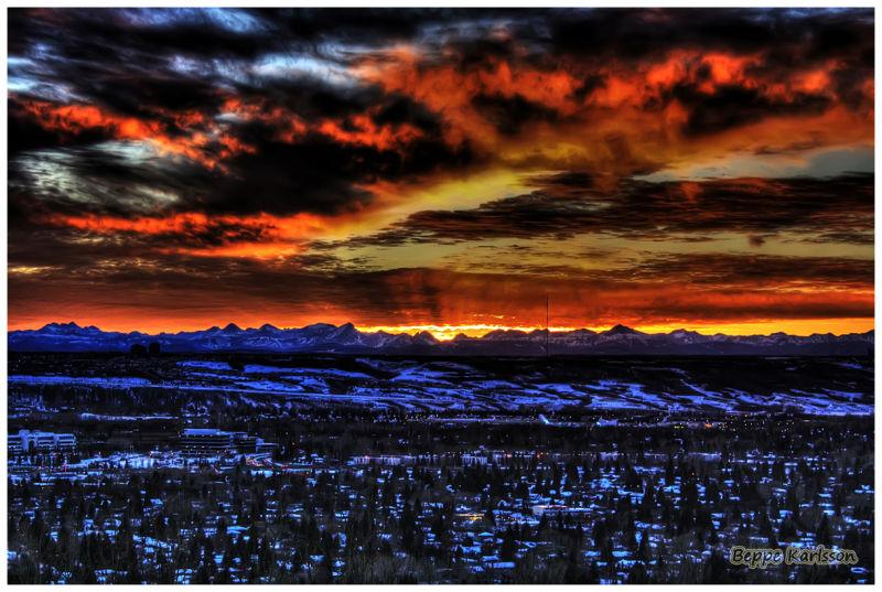 Sunset, 2