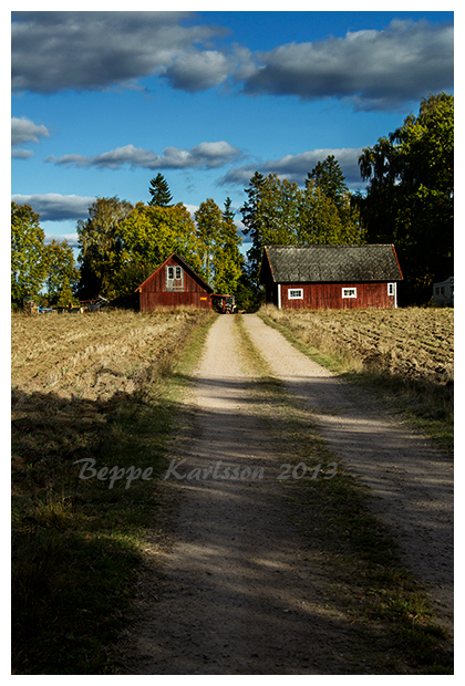 Farmstead in Småland, Sweden