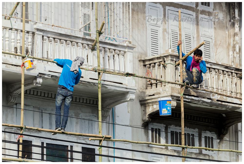 Housepainters in Bangkok