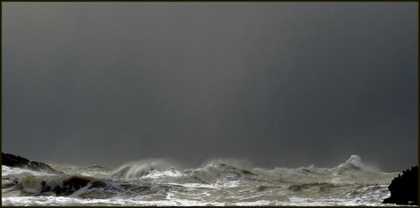 la mar irritada
