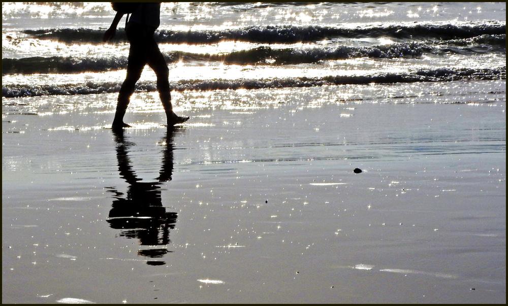 Caminando la orilla