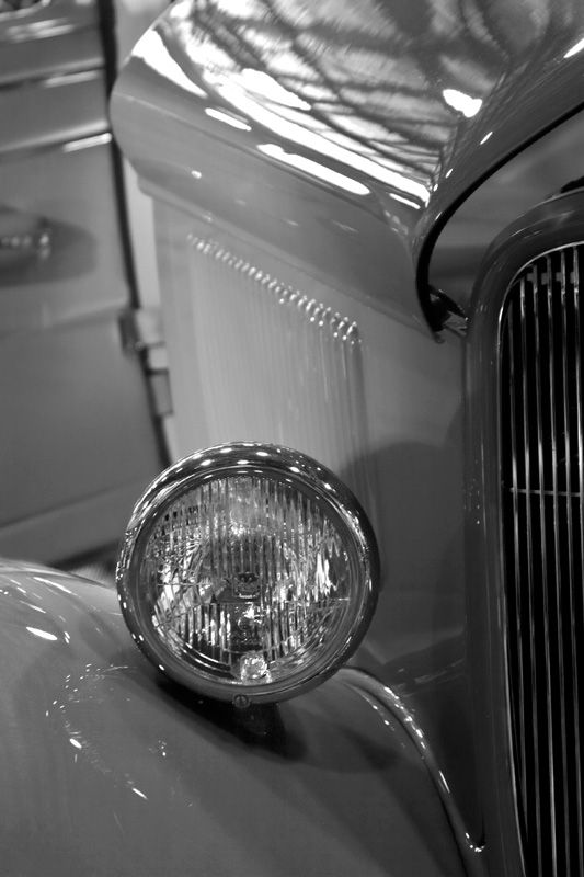 Hot Rod in Black and white by BlindPoet